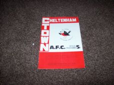 Cheltenham Town v Trowbridge Town,1972/73 [FAT]